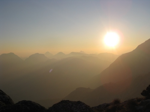 Sunrise over Mulanje Massif