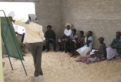 All loan recipients receive health education & business skills training